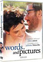 Words and Pictures DVD Nuovo Sigillato Juliette Binoche Clive Owen RN