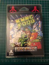 Atari Lynx game console cartridge Kung Food 1992 Sealed Blister