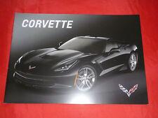 CHEVROLET Corvette C7 Coupe Cabriolet Stingray Prospekt Brochure von 2014