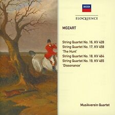 Musikverein Quartet - Mozart: String Quartets KV 428 458 464 465 [New CD] Austra