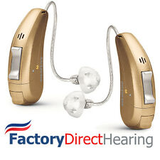 2 New Siemens Binax Pure 3 Bx RIC Hearing Aids + 3 Year Warranty
