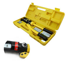 Hydraulic Crimper 12Ton Crimping Force Tube Terminal Lug Battery Cable Wire Tool