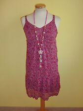 Kleid Mexx Trägerkleid dunkelrose taupe Größe S wie neu