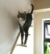 Cat Ladder Tower Accessory, Catification Handcrafted Wall Mounted Climber Steps