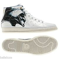 New~Adidas STAN SMITH 80s MID STAR WARS DARTH VADER Shoes superstar~Mens sz 10.5