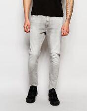 G-Star Raw Jeans Type-c 3d Super Slim Kamden Grey Stretch Denim Light Aged 30 In. Long