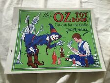 Rare Vintage Repro Of 1915 Wizard Of Oz Toy Cutout Book John R Neill