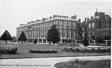 Vintage Postcard EAST FRONT & GARDENS HAMPTON COURT, HEREFORDSHIRE Unposted (A5)