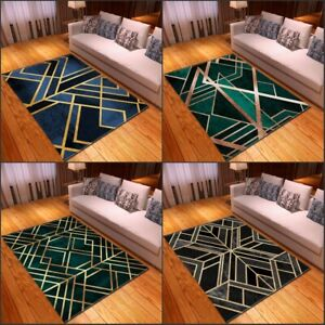 Geometric Series Small Large Long Floor Carpet Area Rugs Various Size Soft Rug