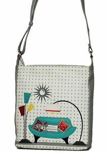Mala Leather Handbag- Beau's No Dogs on The Sofa Cross Body Bag RRP £87.00
