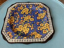 """Royal Dolton Prunus pattern sandwich plate 8"""""""