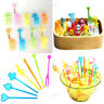 Bento Colorful Animal Food Fruit Picks Forks Lunch Box Accessory Decor Tools
