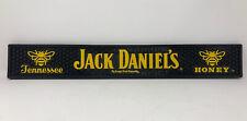 Vintage Jack Daniels Bar Spill Runner May Tennessee Honey Black Yellow Barware