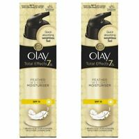 2 Olay Total Effects Featherweight Moisturise 7-In-1 SPF15 AntiAgeing Cream 50ml