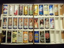 Sweet 30 Foreign & Canadian 16oz beer cans All bottom opened 10 Tennents #122