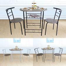 Sets de sillas y mesas de comedor de metal para el hogar