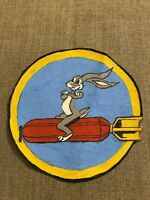 WWII USAAF US Army Air Force 97th Bomb Group Squadron Patch Bugs Bunny