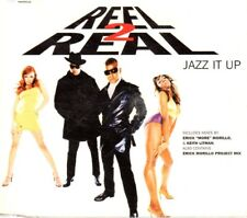 REEL 2 REAL JAZZ IT UP CD Single Techno HOUSE DANCE VALE MUSIC BIT POSITIVA