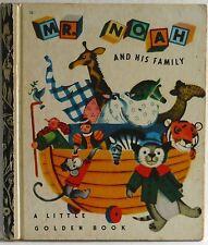 A Little Golden Book Mr Noah and his Family Alice Martin Provensen LGB 1973 GC