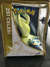 "CELEBI 20th Anniversary Pokemon Limited Edition 8"" Plush New in Bag"