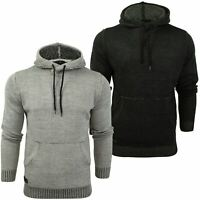 Mens Knit Hoodie Jumper by Dissident 'Orchestra'