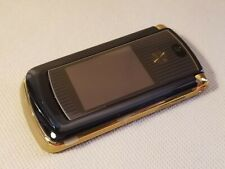New Motorola OEM FULL Housing w/ LCD Speaker Buttons for RAZR2 V9m  BLACK & GOLD