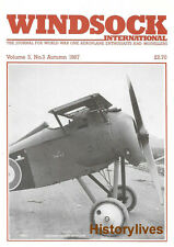 Windsock International V.3 N.3 RAF FE8 LFG Roland Hucks Fabric Salamander Snipe