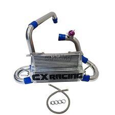 CX FMIC Alum Double core Intercooler Kit For 07-09 Mazdaspeed3 1st Gen Blue