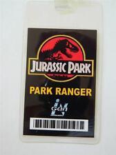 HALLOWEEN COSTUME PROP-ID/Security Badge Jurassic Park (Park Ranger Badge)