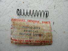 KAWASAKI S1 S2 CLUTCH RELEASE SPRING  NOS OEM PT # 92081-045  OM4