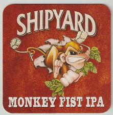 16 Shipyard  Monkey Fist IPA  Beer Coasters