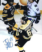 Brad Marchand Boston Bruins Stanley Cup signed 8x10 A