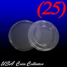 (25) Penny Size Direct Fit Air-Tite Coin Capsule [A19] Genuine  - Cent - 19mm