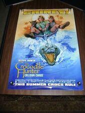 CROCODILE HUNTER STEVE IRWIN (2002) US AUTHENTIC ORIGINAL 27x40 DS MOVIE POSTER