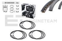 3x Kolbenringsatz R1005400 VW SKODA SEAT 1,2 AWY AZQ BME BMD 030107311M