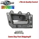 Interior Door Handle Front Right 05-11 for Jeep Grand Cherokee Gray & Chrome