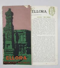 ELLORA - 1930's Illustrated Guide INDIAN STATE RAILWAYS