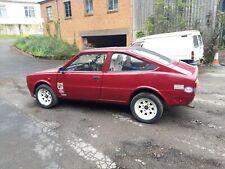 Classic Skoda Rally race car turbo 1989 fastback