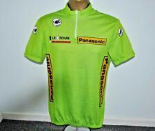CASTELLI - PANASONIC - 1990 VTG TOUR DE FRANCE CYCLI CYCLING JERSEY MENS  SIZE L