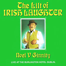 Noel V. Ginnity - The Lilt of Irish Laughter | NEW & SEALED CD (Irish Comedian)