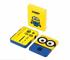 Limited Edition Lamy X Minions Special Fountain Pen Yellow Naver Line Friends