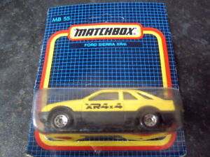 MATCHBOX FORD SIERRA XR4X4 CLASSIC FORD MB55 (BOXED & MINT)