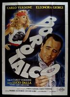 Werbeplakat Borotalco Carlo Verdone Eleonora Giorgi Lucio Aus Kino Film M232