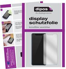 2x ZTE Axon 9 Pro Schutzfolie klar Displayschutzfolie Folie Display Schutz dipos