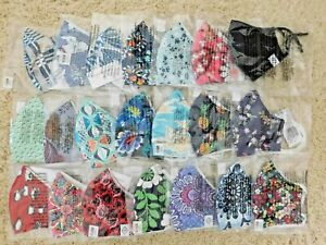 VERA BRADLEY COTTON FACE MASK U-PICK WASHABLE NWT MIX OR MATCH NON-MEDICAL
