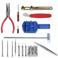 16 Piece Watch Repair Tool Kit Pin Strap Remover Battery Replacement Opener