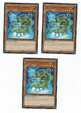 X3 YUGIOH LAUNCHER COMMANDER COTD-EN004 COMMON IST IN HAND READY TO SHIP