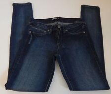 Fragile Juniors Skinny Fit Jeans Dark Wash Distressed Size 9 NWOT