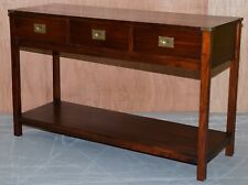 LAURA ASHLEY CAMPAIGN 3 DRAWER SIDEBOARD