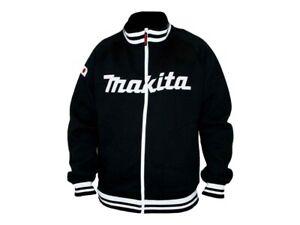 """Makita 98P160 Varsity Style Stadium Baseball Jacket Large Coat 38"""" - 40"""""""